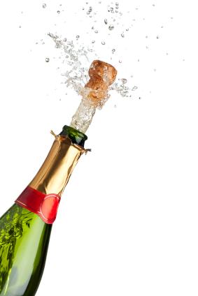 new years champagne iStock 000018550149XSmall